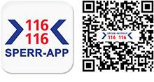 QR-Code für die Sperr-App